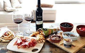 Präsentbox - Tapas-Abend für Zwei I Tapas para dos I Geschenk für Feinschmecker und Spanienfans   Spezialitäten aus Spanien   Geschenk für Männer & Frauen - 3