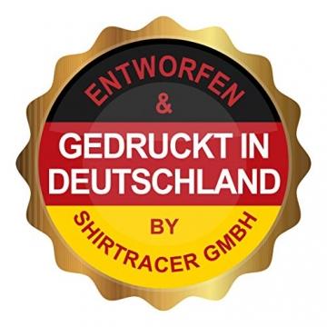 Shirtracer Schwester & Tante - Ich bin eine Tante - Unisize - Dunkelgrau - geschenk patentante - WM110 - Turnbeutel und Stoffbeutel aus Baumwolle - 8