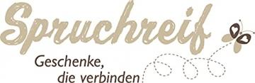 Spruchreif PREMIUM QUALITÄT 100% EMOTIONAL · Frühstücksbrettchen aus Holz · Brotzeitbrett mit Gravur · Geschenk für Familie · Holzbrettchen mit Herzausschnitt - 4