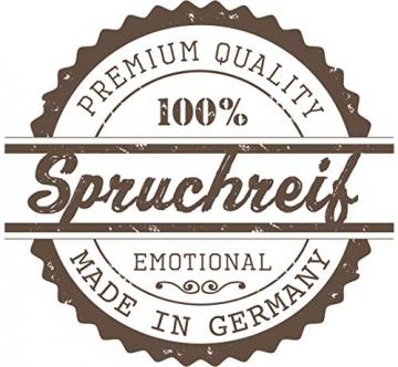 Spruchreif PREMIUM QUALITÄT 100% EMOTIONAL · Frühstücksbrettchen aus Holz · Brotzeitbrett mit Gravur · Geschenk für Familie · Holzbrettchen mit Herzausschnitt - 5