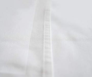 TextilDepot24 Damast Tischdecke weiß mit Atlaskante bei 95°C waschbar 130 x 250 cm 100% Baumwolle - 5