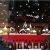 Tuopuda Weihnachtssticker Weihnachten Rentier Schneeflocken Stadt Removable Vinyl Fensterbilder Fensterdeko Weihnachtsdeko Weihnachten Wandaufkleber Wandtattoo Wandsticker (rot) - 2