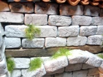 Unbekannt 250 rechteckige Ruinen-Bausteine für Krippenbau, LGB Gartenbahn etc. - 1