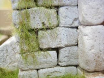 Unbekannt 250 rechteckige Ruinen-Bausteine für Krippenbau, LGB Gartenbahn etc. - 2