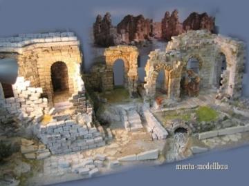 Unbekannt 250 rechteckige Ruinen-Bausteine für Krippenbau, LGB Gartenbahn etc. - 3