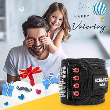 Vatertagsgeschenk [2021] Magnetarmband für Handwerker - Vatertag - Vatertagsgeschenk Personalisiert - Geschenke für Männer - Männer Geschenke - Gadgets für Männer - Geschenkideen für Männer - 2