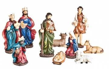 VBS 10 XXL-Krippenfiguren Weihnachten Krippe Figur - 1