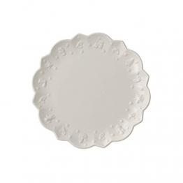 Villeroy & Boch Toy's Delight Royal Classic Frühstücksteller, 23 cm, Premium Porzellan, Weiß - 1