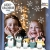 Wandtattoo Loft Fensterbild Weihnachten Pinguine Schneeflocken Wiederverwendbare Fensteraufkleber Fensterdeko Kinderzimmer - 2