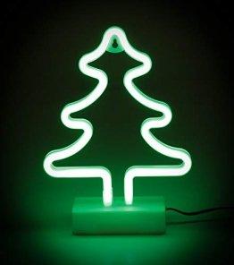 Weihnachtsbaum, LED Neon Weihnachtsbeleuchtung, 12V 24V, Auto, LKW oder Wohnmobil - 1