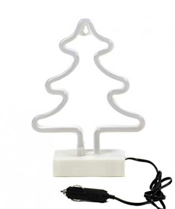 Weihnachtsbaum, LED Neon Weihnachtsbeleuchtung, 12V 24V, Auto, LKW oder Wohnmobil - 3