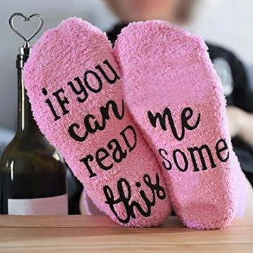Wein Geschenkset für Freundin mit Wein Socken, 12oz Edelstahl Weingläser mit Deckel Weinsocken Flaschenöffner Strohhalm, Strohhalmpinsel Weintasse für Wein, Getränke, Champagner, Cocktails - 8