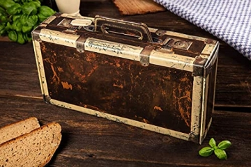 WURSTBARON® - Wurst Geschenk Koffer - mit 24 besondere Salami und Wurst Snacks - Brezen, Herzen, Sterne, Pikanten und vieles mehr - 790 g - 3
