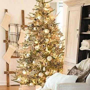 30X LED Weihnachtskerzen mit Fernbedienung Timer Warmweiß Dimmbar Kerzen Weihnachtskerzen Christbaumkerzen Kabellos - 2