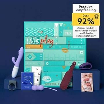 Amorelie Adventskalender 2021 Premium, Wert 477€, 24 Geschenke für Paare, Pärchen Advent-Kalender - 1