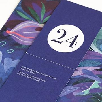 Bio-Saatgut-Adventskalender 2021 - Magische Zeit- Das Original von Magic Garden Seeds - Jubiläumsausgabe - befüllt mit 24 Bio-Samentütchen in schönem Design - 3