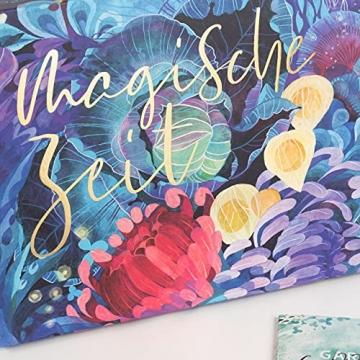 Bio-Saatgut-Adventskalender 2021 - Magische Zeit- Das Original von Magic Garden Seeds - Jubiläumsausgabe - befüllt mit 24 Bio-Samentütchen in schönem Design - 8