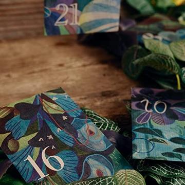 Bio-Saatgut-Adventskalender 2021 - Magische Zeit- Das Original von Magic Garden Seeds - Jubiläumsausgabe - befüllt mit 24 Bio-Samentütchen in schönem Design - 9