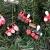 BOSSTER Hölzerner Weihnachtszug 6 stücke Weihnachten Holzeisenbahn Mini Weihnachten Deko mit Seil zum Weihnachten Vitrine Fenster Desktop Dekoration - 4