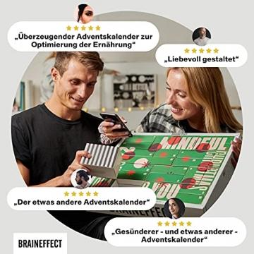 BRAINEFFECT 2-In-1 Adventskalender 2021 - Vegane Mind Food's für Fitness-Liebhaber und Biohacker + Digitales Coaching, Adventskalender Männer, Adventskalender Frauen, Adventkalender für 2021 - 5