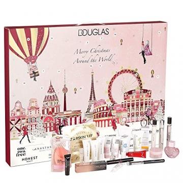 DOUGLAS Adventskalender 2021 Beauty -Premium EDITION- Frauen + Mädchen Kosmetik Advent Kalender , 24 Kosmetik Geschenke Wert 300 €, Pflege Frau, Adventkalender Damen - 2