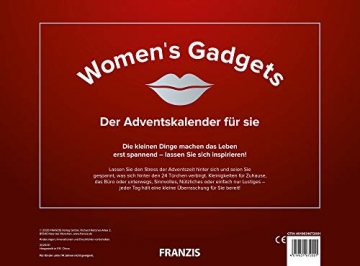 FRANZIS Women's Gadgets 2020: Der Adventskalender für sie   24 Türchen, die den Alltag erleichtern   Jeder Tag eine kleine Überraschung   Ab 14 Jahren - 2
