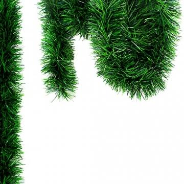 Helmecke & Hoffmann * 10 m Lange Girlande Baumgirlande Weihnachtsgirlande Dekogirlande Weihnachtsdeko - 2