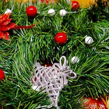 Helmecke & Hoffmann * 10 m Lange Girlande Baumgirlande Weihnachtsgirlande Dekogirlande Weihnachtsdeko - 5