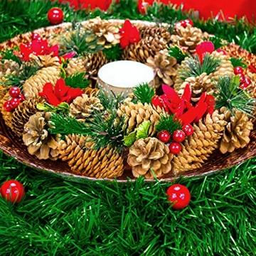 Helmecke & Hoffmann * 10 m Lange Girlande Baumgirlande Weihnachtsgirlande Dekogirlande Weihnachtsdeko - 6