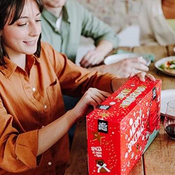 Just Spices Kleiner Gewürz Adventskalender 2021 I Weihnachtskalender mit 24 Gewürzmischungen + Rezepten I Hochwertige Gewürze als Geschenk für Männer und Frauen (2021) (2021) - 4