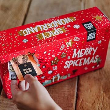 Just Spices Kleiner Gewürz Adventskalender 2021 I Weihnachtskalender mit 24 Gewürzmischungen + Rezepten I Hochwertige Gewürze als Geschenk für Männer und Frauen (2021) (2021) - 5