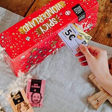 Just Spices Kleiner Gewürz Adventskalender 2021 I Weihnachtskalender mit 24 Gewürzmischungen + Rezepten I Hochwertige Gewürze als Geschenk für Männer und Frauen (2021) (2021) - 7