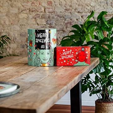 Just Spices Kleiner Gewürz Adventskalender 2021 I Weihnachtskalender mit 24 Gewürzmischungen + Rezepten I Hochwertige Gewürze als Geschenk für Männer und Frauen (2021) (2021) - 9