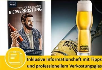 KALEA Bier-Adventskalender, 24 x 0,33 L Bierspezialitäten von Privatbrauereien aus Deutschland und 1 Verkostungsglas, neue Bestückung 2021, Biergeschenk zur Vorweihnachtszeit für alle Bierliebhaber - 6