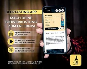 KALEA Bier-Adventskalender, 24 x 0,33 L Bierspezialitäten von Privatbrauereien aus Deutschland und 1 Verkostungsglas, neue Bestückung 2021, Biergeschenk zur Vorweihnachtszeit für alle Bierliebhaber - 7