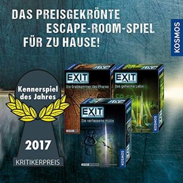 KOSMOS 681951 EXIT - Adventskalender 2021, Die Jagd nach dem goldenen Buch, mit 24 spannenden Rätseln ab 10 Jahre, Escape Room Spiel vor Weihnachten, für Kinder Jugendliche und Erwachsene - 4
