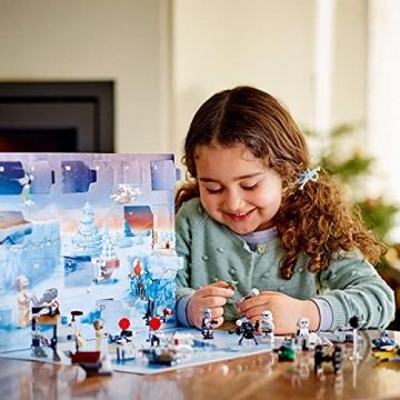 LEGO 75307 Star Wars Adventskalender 2021 Bausatz Mandalorianer Kinder ab 6 mit Baby Yoda Minifigur - 2
