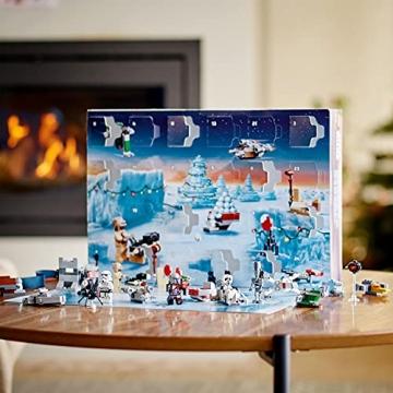 LEGO 75307 Star Wars Adventskalender 2021 Bausatz Mandalorianer Kinder ab 6 mit Baby Yoda Minifigur - 6
