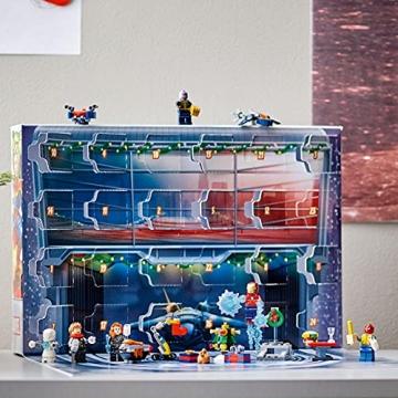 LEGO 76196 Marvel Avengers Adventskalender 2021 Spielzeugset aus Bausteinen mit Spider-Man und Iron Man für Kinder ab 7 Jahren Weihnachtsgeschenkideen - 2