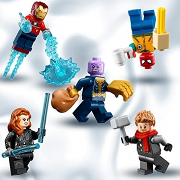 LEGO 76196 Marvel Avengers Adventskalender 2021 Spielzeugset aus Bausteinen mit Spider-Man und Iron Man für Kinder ab 7 Jahren Weihnachtsgeschenkideen - 3