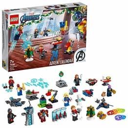LEGO 76196 Marvel Avengers Adventskalender 2021 Spielzeugset aus Bausteinen mit Spider-Man und Iron Man für Kinder ab 7 Jahren Weihnachtsgeschenkideen - 1