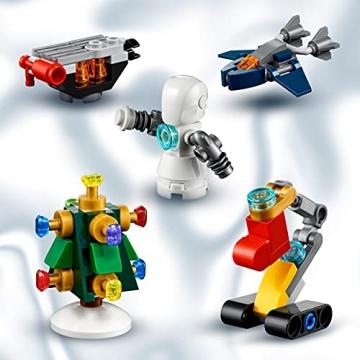 LEGO 76196 Marvel Avengers Adventskalender 2021 Spielzeugset aus Bausteinen mit Spider-Man und Iron Man für Kinder ab 7 Jahren Weihnachtsgeschenkideen - 4