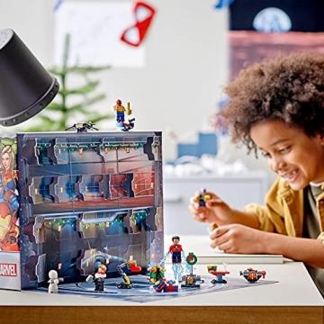 LEGO 76196 Marvel Avengers Adventskalender 2021 Spielzeugset aus Bausteinen mit Spider-Man und Iron Man für Kinder ab 7 Jahren Weihnachtsgeschenkideen - 6