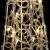 Nipach LED Pyramide Lichterkegel – Beleuchtung für Weihnachten innen außen – Acryl-Figur Batterie & Timer – 30 Leuchten warm weiß 60 cm hoch - 4