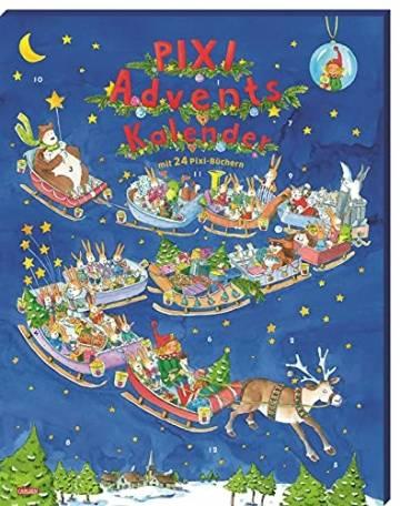 Pixi Adventskalender 2021: Mit 22 Pixi-Büchern und 2 Maxi-Pixi - 1