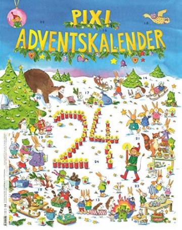 Pixi Adventskalender 2021: Mit 22 Pixi-Büchern und 2 Maxi-Pixi - 2