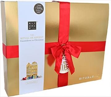 RITUALS Adventskalender 2021 Frauen EXKLUSIV, Beauty Kosmetik Advent Kalender,24 Geschenke Wert 250€, Pflege Weihnachtskalender Frau, Adventkalender - 2