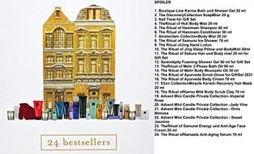 RITUALS Adventskalender 2021 Frauen EXKLUSIV, Beauty Kosmetik Advent Kalender,24 Geschenke Wert 250€, Pflege Weihnachtskalender Frau, Adventkalender - 3