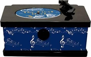 Sound-Adventskalender - It's Christmas Time: Vintage-Plattenspieler mit 24 Weihnachtssongs - 1