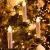 VASEN LED Christbaumkerzen Kabellos mit Fernbedienung Warmweiß Weihnachtsbaumkerzen Flammenlos Weihnachtskerzen 40er [Energieklasse A++] - 2